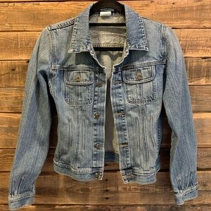 Lob Jean Jacket with Cute Details